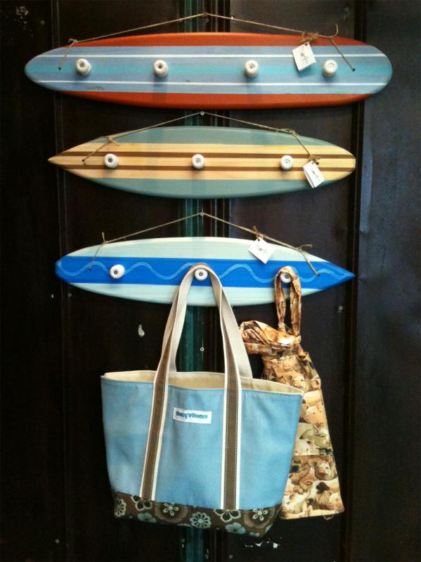 Surfboard Coat Racks At OceanArts Nautical Art Home Bar Extraordinary Surfboard Coat Rack